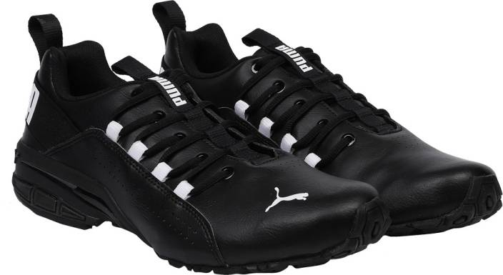 8b94a7197c5a4f Puma Hexa Dot IDP Puma White-Puma Black-Puma Running Shoes For Men (Black)
