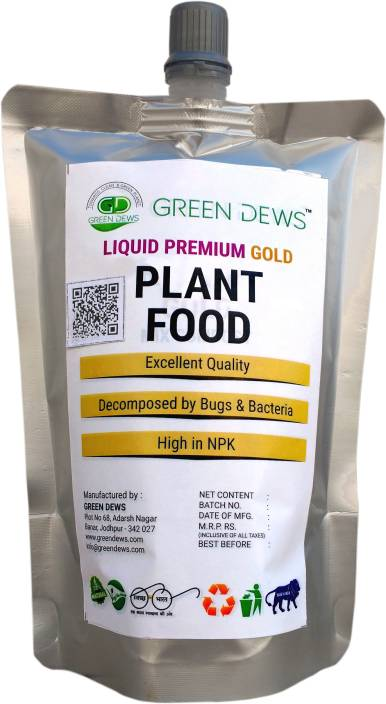 green dews plant food Organic Liquid premium gold GDLA0909