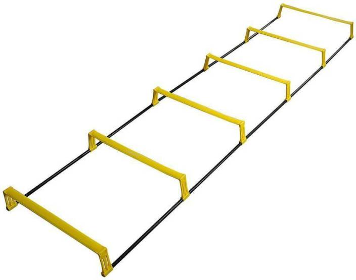 381183ae4 VK 8 Rungs Heavy Duty Convertible Agility Ladder (8 Meter) / 8 Hurdles (4  Inch) Adjustable Soccer Speed ...