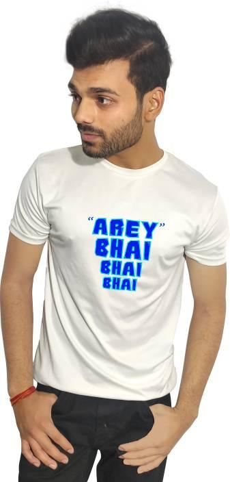 550e1ec86a7 OLD ROYAL Printed Men s Round Neck White T-Shirt - Buy OLD ROYAL ...