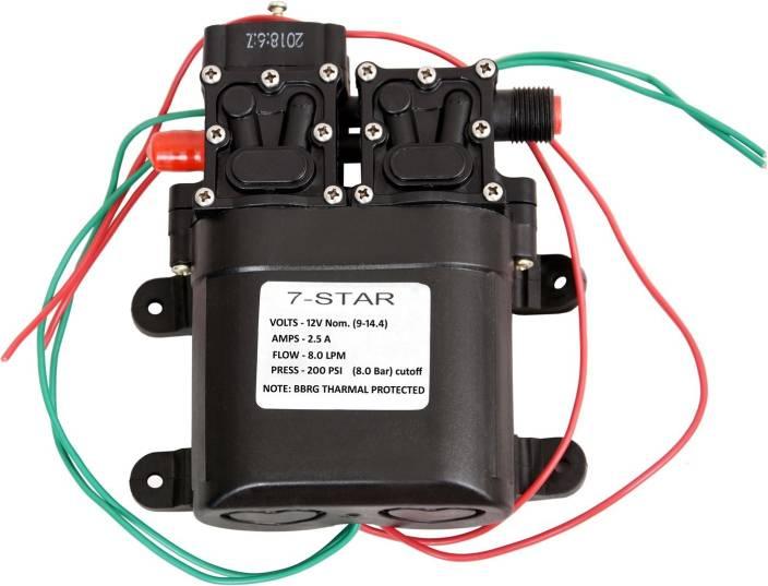 7star 8 0 LPM / 12v DC Battery Sprayer Motor Pump Diaphragm