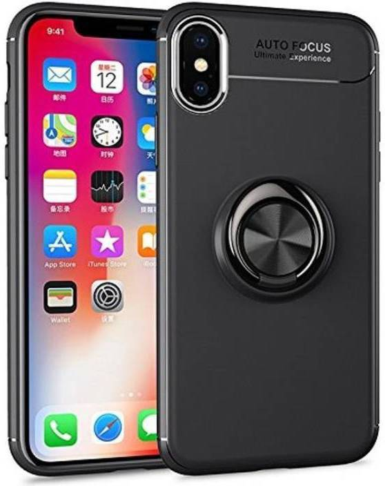 official photos 29c9d 09d5f StyleDot Back Cover for IPHONE XS MAX ,Ring Finger Holder Phone Case ...