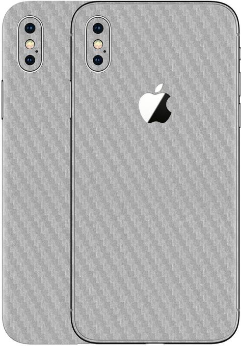 Gadgets Wrap Gw 3 Silver Carbon Skin For Apple Iphone Xs Max Mobile