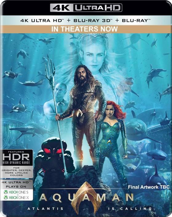 aquaman steelbook  Aquaman (Steelbook) (4K UHD + Blu-ray 3D + Blu-ray) Price in India ...