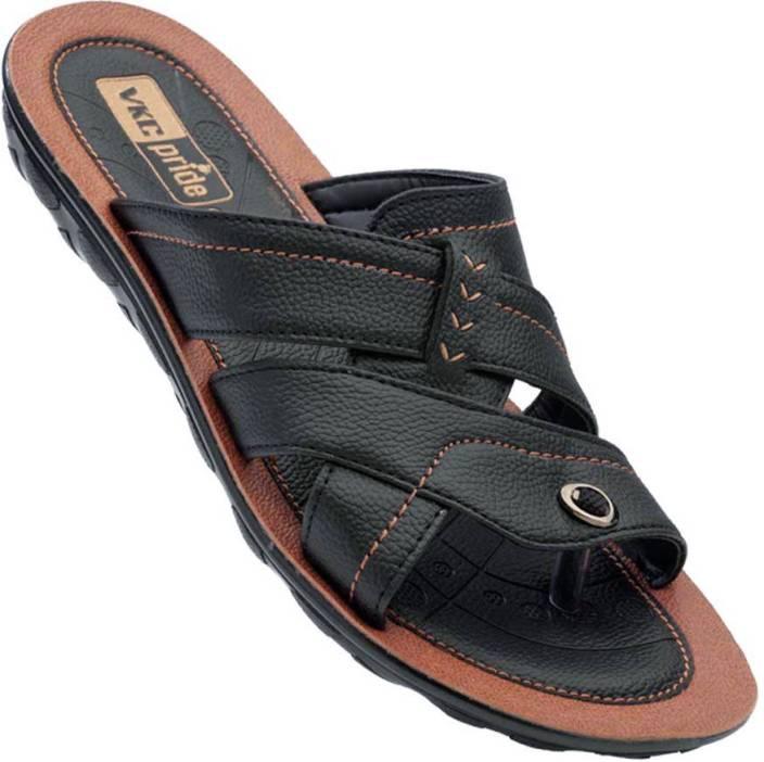 ec1a3159107f VKC PRIDE Men Black Tan 21109 Sandals - Buy VKC PRIDE Men Black Tan 21109 Sandals  Online at Best Price - Shop Online for Footwears in India