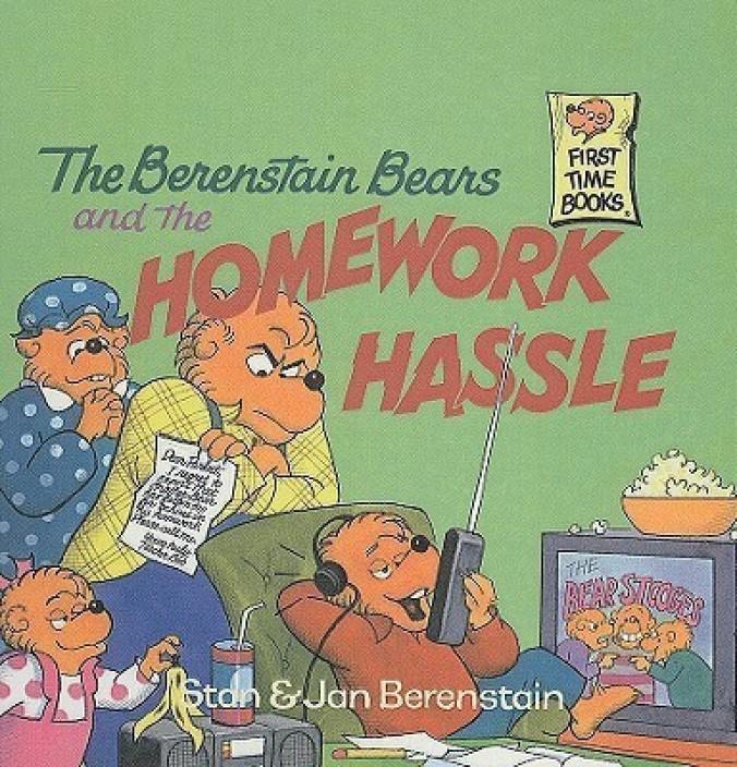 berenstain bears homework hassle english