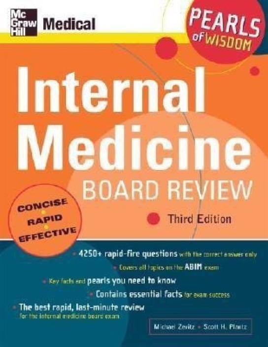 Internal Medicine Board Review: Pearls of Wisdom: Buy Internal
