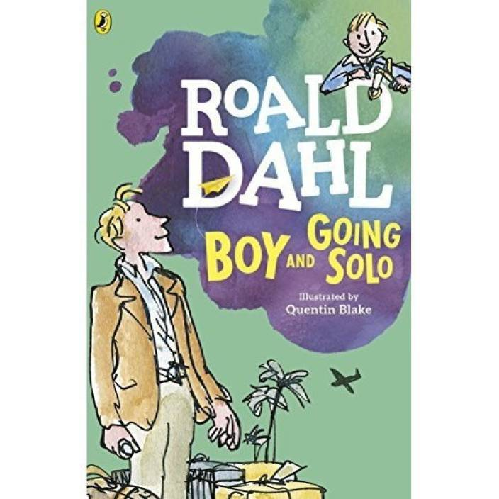 Boy And Going Solo Buy Boy And Going Solo By Dahl Roald At Low