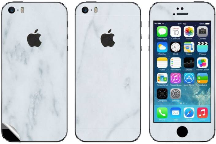 GADGETS WRAP GW-886 White Marble Skin for Apple iPhone 5s / SE