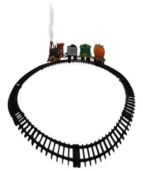 Yamama Light Sound Choo Choo Train Set Toy For Kids