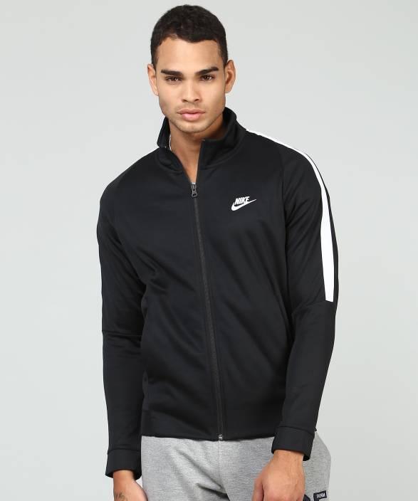 9c95de577 Nike Full Sleeve Self Design Men's Jacket - Buy Nike Full Sleeve ...