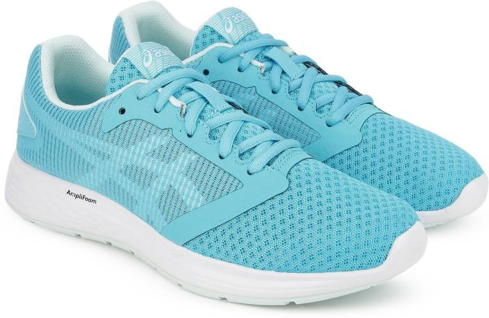 reputable site 208ef c609e Asics PATRIOT 10 Running Shoes For Women (Blue)