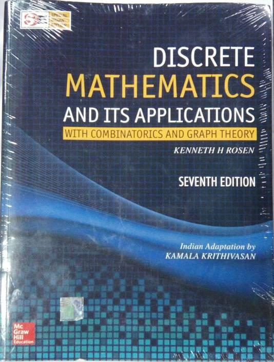 Discrete Mathematics And Its Applications Buy Discrete Mathematics