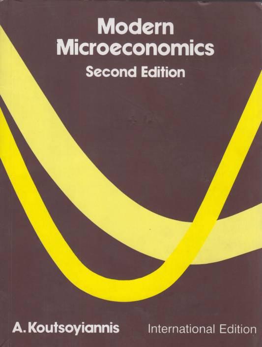modern microeconomics by koutsoyiannis ebook