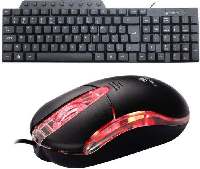 4289bfb045f Zebronics TRUST WIRED USB MOUSE AND KM3500 MULTIMEDIA WIRED USB KEYBOARD  Combo Set Price in India - Buy Zebronics TRUST WIRED USB MOUSE AND KM3500  ...