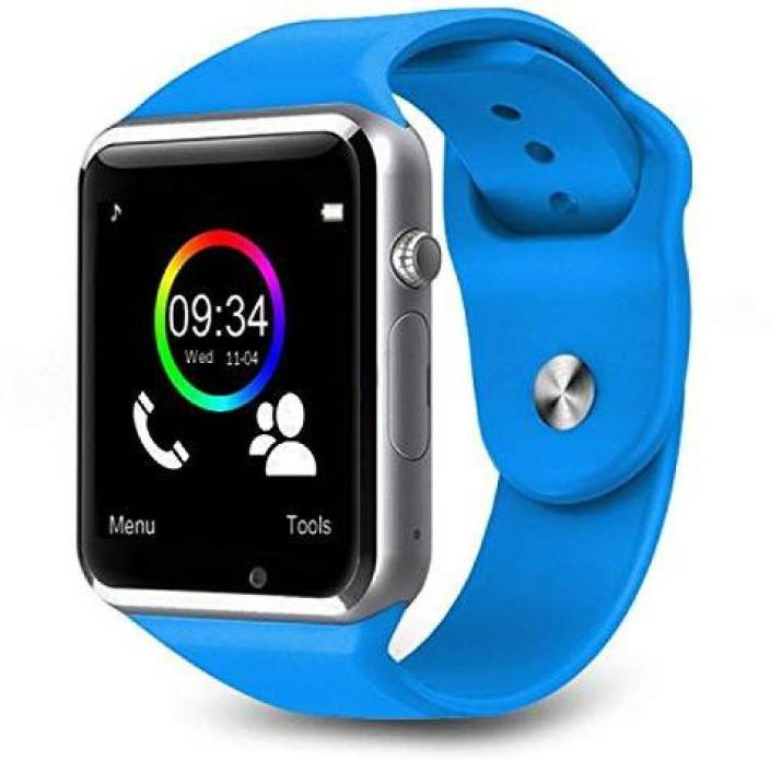 3dc787abc6124a Lizzie Bluetooth Smart Watch Blue Smartwatch Price in India - Buy ...