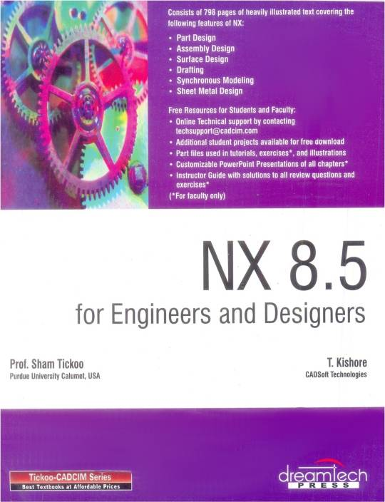 NX 8 5 For Engineers And Designers