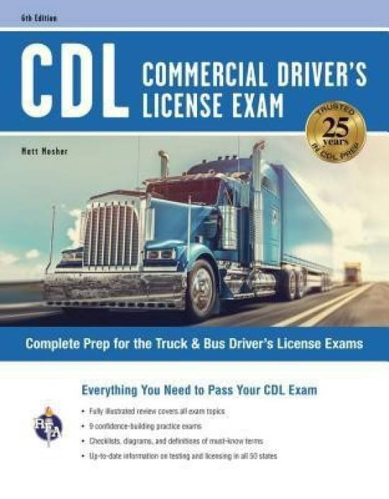CDL - Commercial Driver's License Exam, 6th Ed : Buy CDL - Commercial  Driver's License Exam, 6th Ed  by Mosher Matt at Low Price in India |