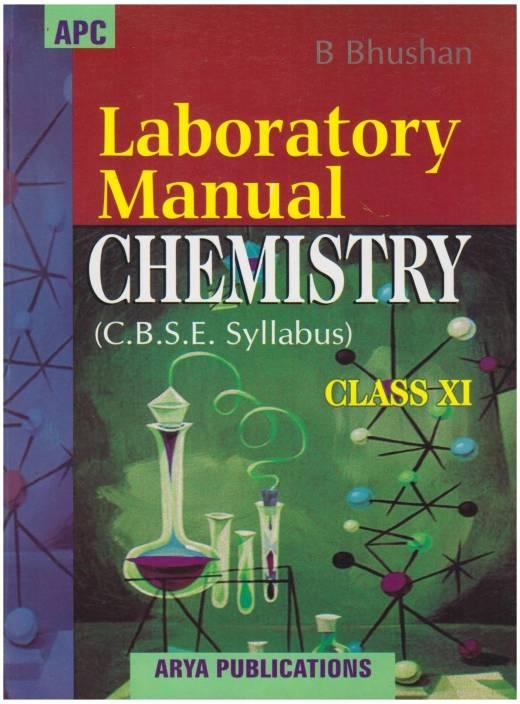 Laboratory Manual Chemistry Class 11 - Cbse: Buy Laboratory Manual