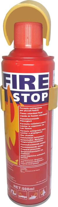 Oxygen Foam Based Fire Stop - Portable Spray Safety - Flame