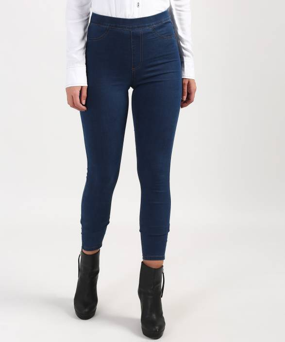37480cf54086ee Marks & Spencer Blue Jegging Price in India - Buy Marks & Spencer ...