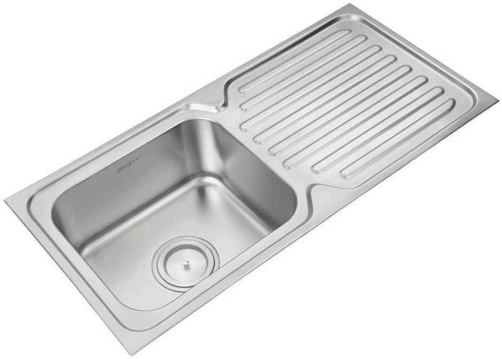 Amazing Anupam Stainless Steel Kitchen Sink 940 X 460 X 200 Mm Home Interior And Landscaping Palasignezvosmurscom