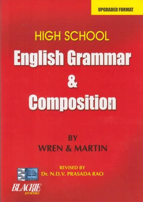 High School English Grammar And Composition Buy High School English
