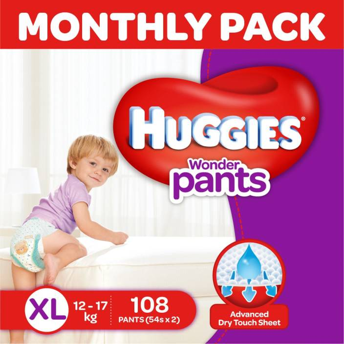 Huggies Wonder Pants Diaper - XL