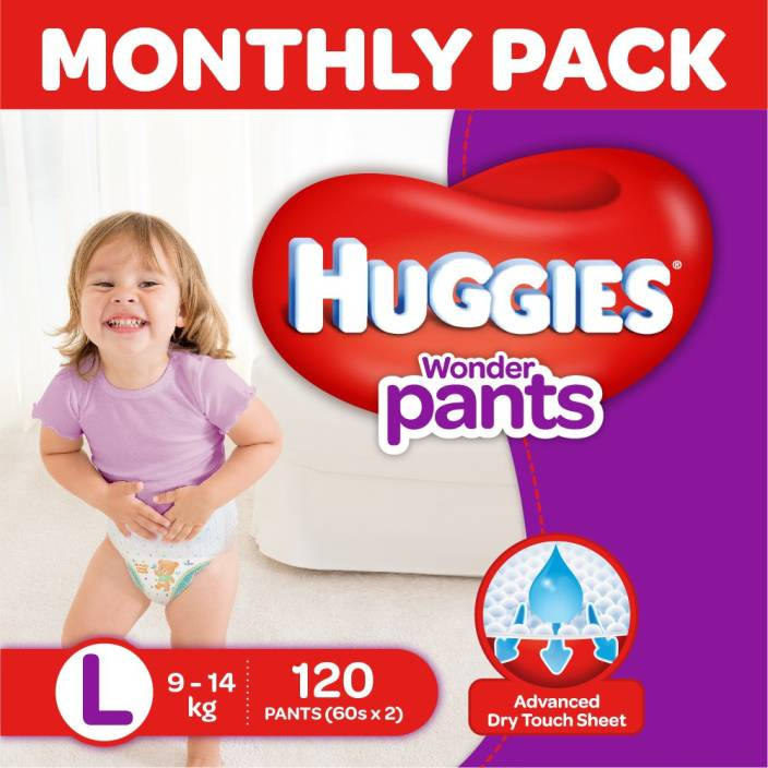Huggies Wonder Pants Diaper - L