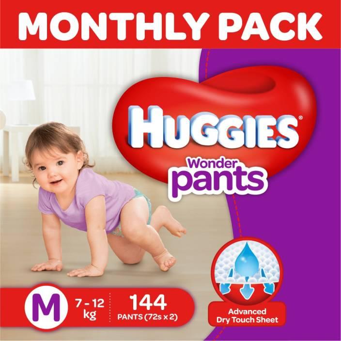Huggies Wonder Pants Diaper - M