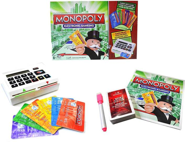 Bestie Toys Monopoly Electronic Banking Board Game For Kids And