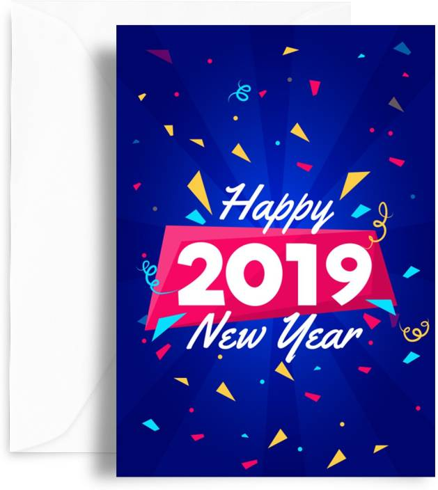 Happy New Year Greeting Card 32