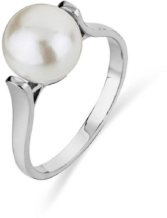 98c260428 Jaipur Gemstone Pearl Ring With 100% Original Moti Lab Certified Stone Pearl  Silver Plated Ring Price in India - Buy Jaipur Gemstone Pearl Ring With  100% ...
