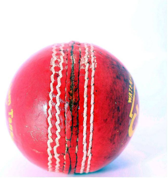 Quinergys Authentic Waterproof 4 Piece Club Grade Cricket Leather Ball Pack Of 1 Red