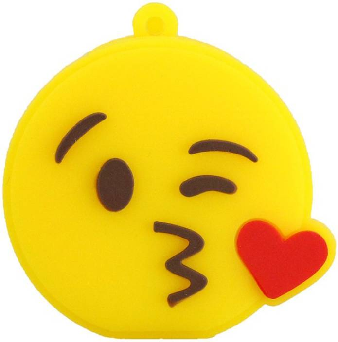 Pankreeti PKT520 Emoji Kiss Cartoon Designer 8 GB Pen Drive