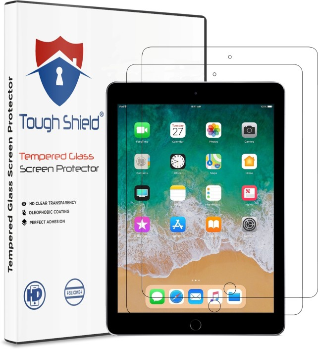 5X Clear Crystal Transparent Screen Protector Guard Shield For Apple iPad Air 2