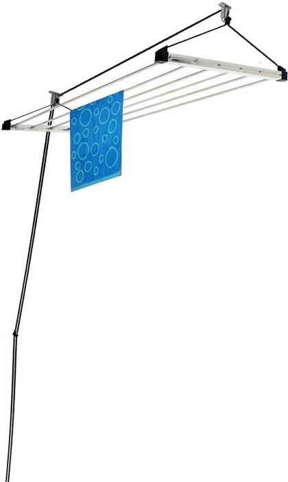 Lakshay Cloth Dryer Rack 7 Pipes 96 Inches 8 Feet Long