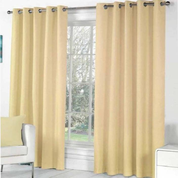 Soulful Creations 152 5 Ft Polyester Window Curtain Pack