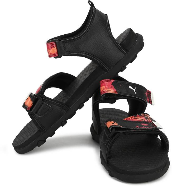Puma Boys & Girls Velcro Sports Sandals