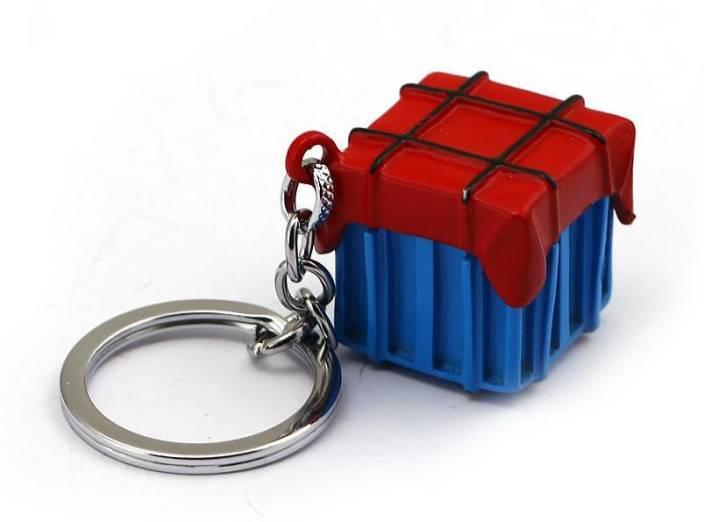 Trunkin TRN -569 Air Drop Box PUBG 3D Keychain Metal Pendant