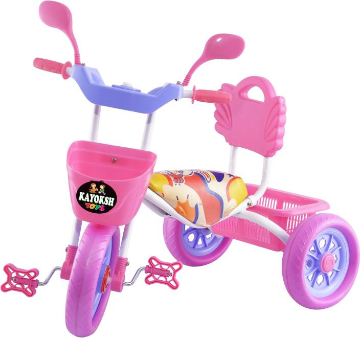 84b4e440f38 kayoksh BABY TRICYCLE FOR KIDS MUSICAL TRICYCLE LIGHT PINK COLOR KIDS  TRICYCLE RECOMMENDED TRICYCLE FOR BABY ...