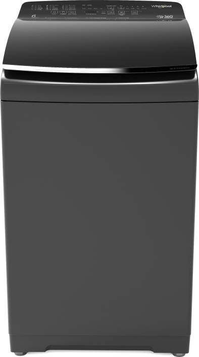 Whirlpool 7 5 kg Fully Automatic Top Load Washing Machine with In-built  Heater Grey