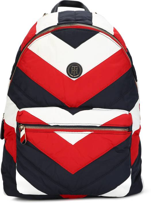 3f5551292c8 Tommy Hilfiger POPPY BACKPACK CHEVRON PUF 5.0 L Backpack CORPORATE ...