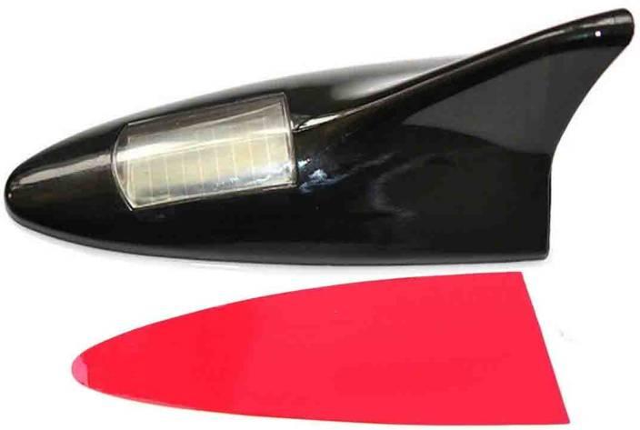 Stela Solar 8 LED Roof Spoiler Shark Fin Car Antenna Flashing Light