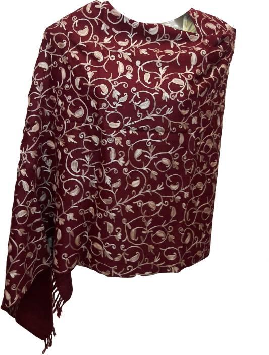 eb8fdbb2e1 Kashmiri Shawl Wool Embroidered Women Shawl - Buy Kashmiri Shawl ...