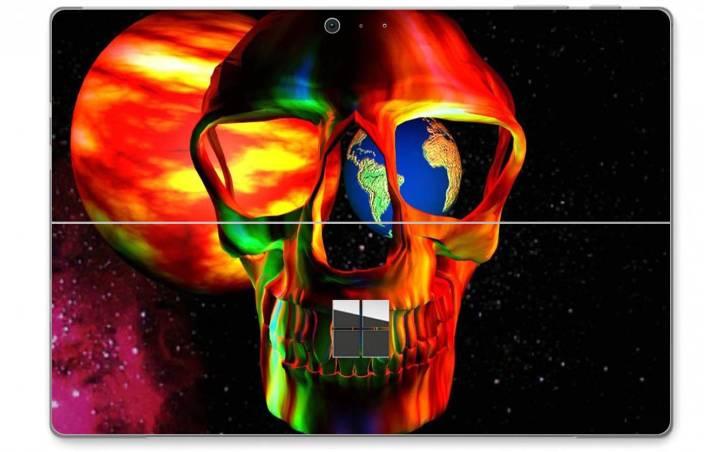 GADGETS WRAP GW26613 Microsoft Surface Pro 4 Printed Golden