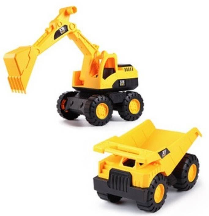 DD RETAIL Construction JCB Machine & Truck Toys For Kids