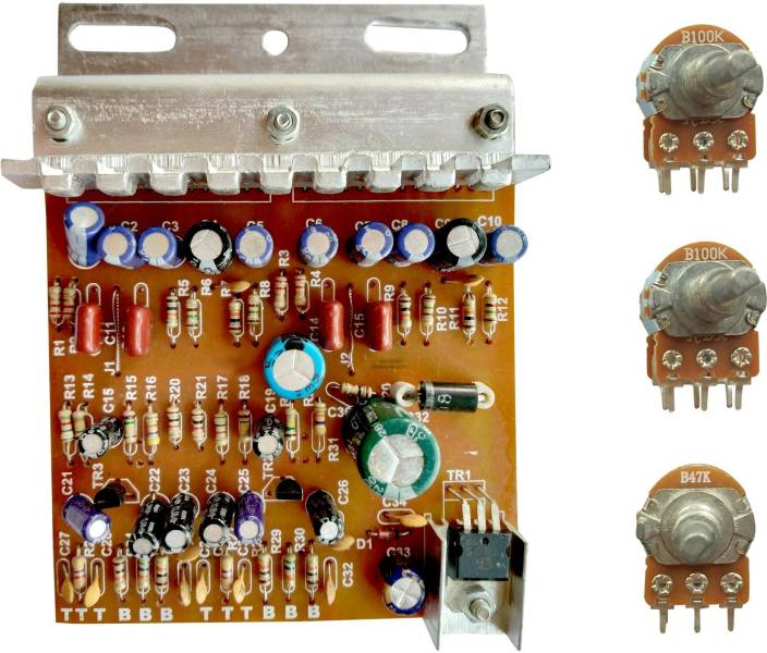 ESP 100W DIY STEREO AUDIO AMPLIFIER CIRCUIT KIT BOARD BASS