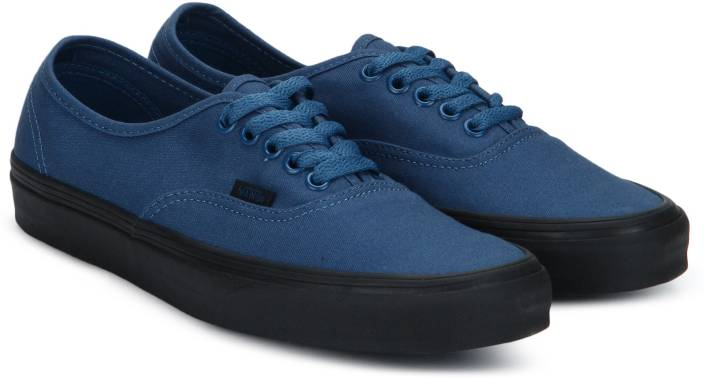 fb862fc9b791d7 Vans Authentic Sneakers For Men - Buy (Black Sole) True Navy Color ...