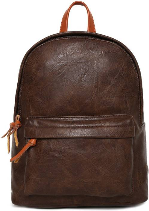 5d9052a3dbd6 Mast   Harbour Backpacks 23.0 L Backpack Brown - Price in India ...